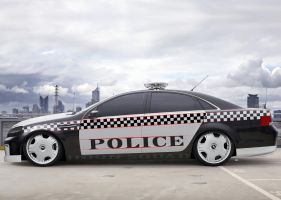 holden caprice cop car chop by vnsupreme