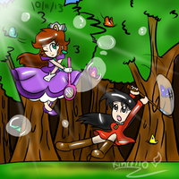 AT: Pursuit of Butterflies by Kincello