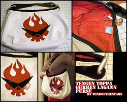 Gurren Lagann Brigade Purse by WindoftheStars