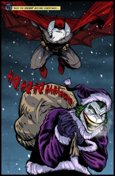 T'was The Knight Before Christmas... by darknight7