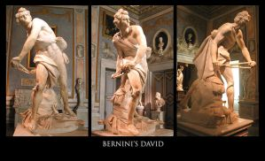 Bernini's David by DesmoGirl