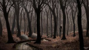 Slenderman Brook by AltonDesignStudio