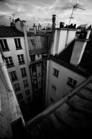 Haussmanian pit by PasoLibre