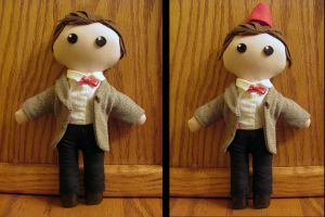Eleventh Doctor Plushie by NocturnalEquine