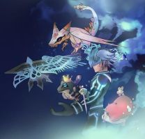 Riku and Dream Eaters by zephyr-flutist