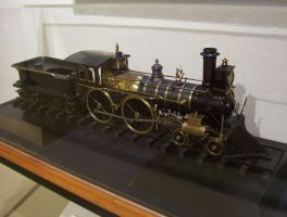 Live Steam 4-4-0 American by LNERA4