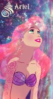 Ariel, the Little Stargazer by Cassiopheyia