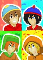.:South Park:. by Cicilicious