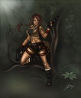 Lara Croft by Holly-the-Laing