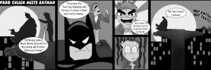 Edward Cullen Meets Batman by pippin1178