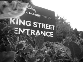 Entrance To College by HarryIndulgence