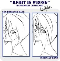 Randome Right is wrong drawing by AfterEverAfter