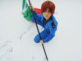 A Soldier in the Snow by CosplayFor2