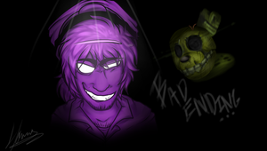 Fnaf 3 -  Purple Guy and Spring Trap by Sniperisawesome