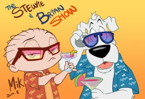 The Stewie and Brian Show by mikmix