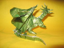 Origami Ancient Dragon by haomaru87