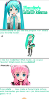 MMD Meme by fbandcc by deoxys90