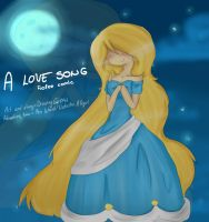 A love song ~ Cover (speedpaint) by Drawing-Heart