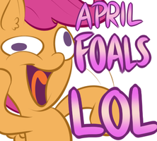April FOALS LOL by Lamiaaaa
