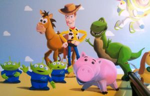 Toy Story by BogusTheMuralist