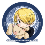 One Piece-I wuv my bunneh by snowbunnyluv