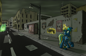Equestrian Wasteland by paper-pony