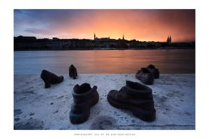 Shoes on the Danube Bank by DimensionSeven