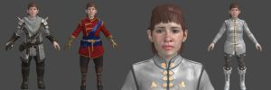 DAI Dwarf Female Inquisitor XPS by Padme4000