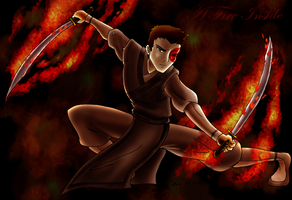 +A Fire Inside+ Zuko Fanart by Robo-Shark