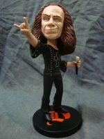Dio Tribute - Bobblehead figure painted by GreenZombieStudios