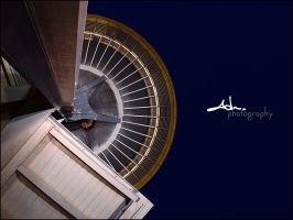 space needle abstract by NWunseen
