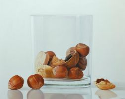 Nuts in glass by ruddy84