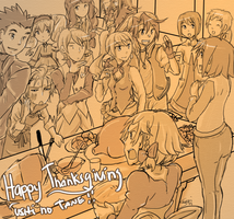 A Harvest Moon Thanksgiving by Sanoshi