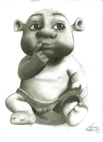Shrek Baby by ZoinksScoob