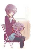 Yuki-chan and Espurr by Huild