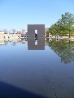 Reflecting Pool by 1footonthedawn