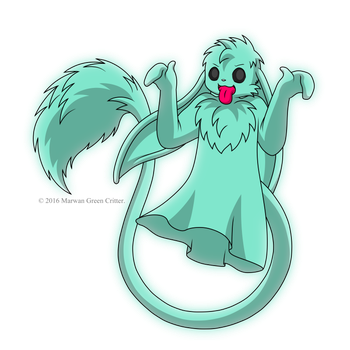 The Return of the Ghost Critter by MarwanGreenCritter