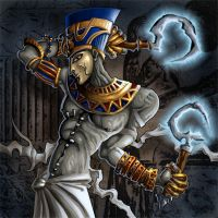 Priest the reaper by Candra