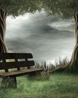 Secluded Bg Stock by Moonglowlilly