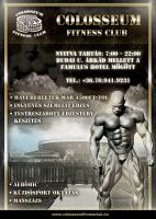 Colosseum flyer by naranch