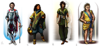 Numenera Characters by plangkye