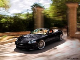 Jaguar XK Convertible by Ricardo88