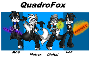 QuadroFox Action Shot! .:PC:. by KrystaliaProductions