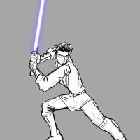 Jedi Saber Test by daemonracer