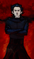 Kylo Ren by siresever