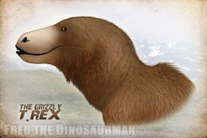 The Grizzly T. Rex by FredtheDinosaurman