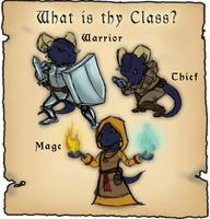 POTES: What is thy Class? by Dragonlegends