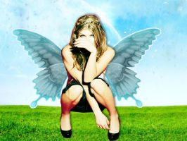 Fergie with Wings by larissarainey