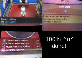 Pokemon Y: National Dex Complete!