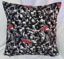 Wallking Dead Pillow by quiltoni